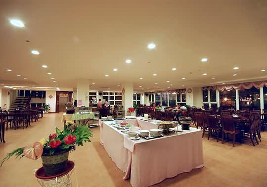 庐山手绘餐厅效果图