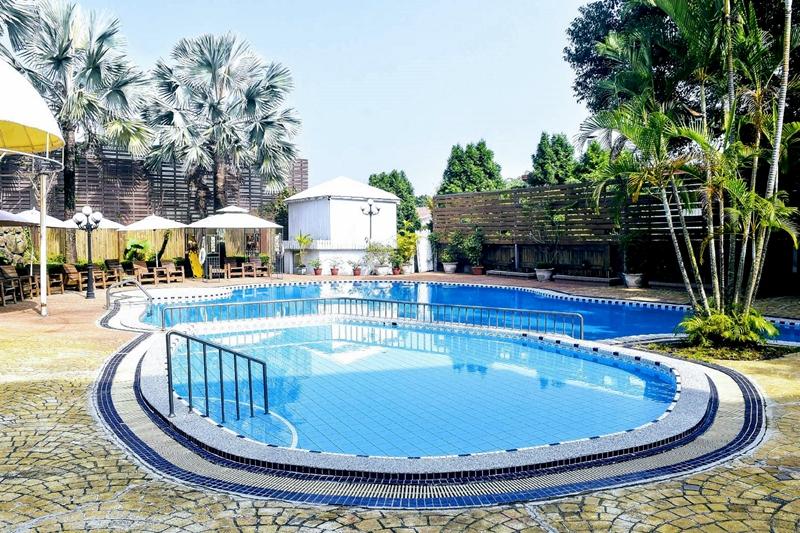 台南關子嶺景大渡假莊園-泳池